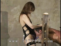 time Domination & submission  Mayumi Asou in Mistress Land