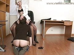 RuthlessMistress.com - Office  was seduced to be a marionette