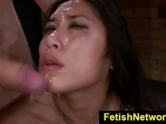 FetishNetwork Mia Li squels for thick salami