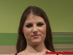 Honey predominated over and facialized by her dr