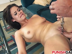 Penalizing cuckold Girlfriend Blair Summers