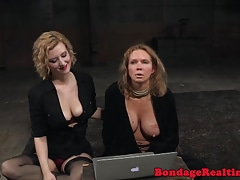 Busty urinate sub pees before domination & submission sole worhsip