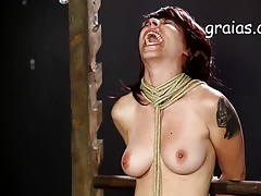 Breast cropping for roped up chick