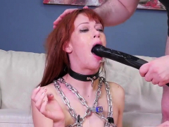 Jism in facehole bondage Slavemouth Alexa