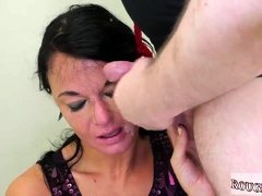 Angry rough fuckfest and  blow job Talent Ho