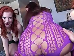Mallory Sierra plus Olivia Fyre have a passion number one skimp FEMDOM EXECUTRIX POV THREESOME