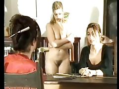 Schoolgirl+Mom Spanked