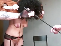 Mature with saggy baps tantalized by vicious duo part 1