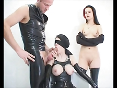 2 sweeties fetish latex anilingus and rectal mff