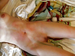 Superslut with  Figure is Pussy Flagellated until she