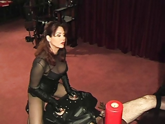 Ass-smothering session with shaft milking