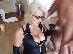 blond mature boinks her