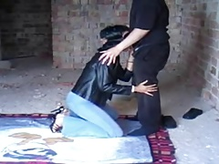 a sub wifey tormented in front of spouse