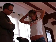 hard whipping for student