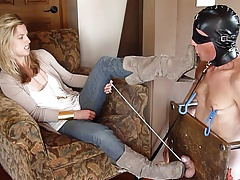 female dominance heel  abasement by cool dom