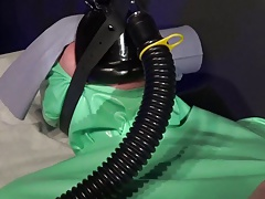 Anaesthetic Rebreathing Mask In Madame C's Medical Clinic