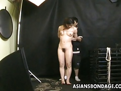 Bound  gets  to a domination & submission rope session