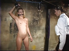 lesbian with lil' titties luvs to play bondage & discipline dungeon space games with dominatrix