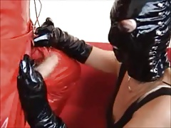 Compilation of Gals in Leather and  Masks and